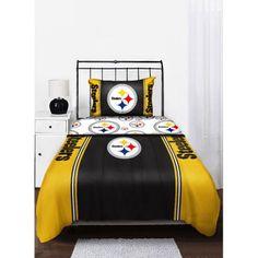 Buy NFL Pittsburgh Steelers Bedding Comforter at Walmart.com