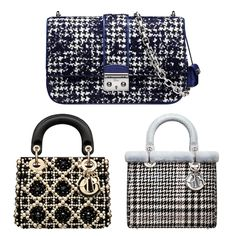 Dior Fall 2013 Collection  Pearls And Silver Bags 0ad82b00f4c07
