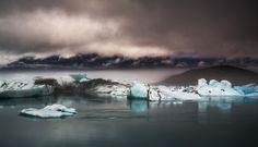 View From a Hill (Jökulsarlon Lagoon, Iceland) | Tony Prower (Iceland Aurora Photo Tours)