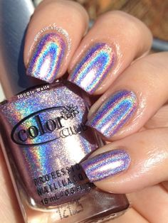 GioNails: Swatches Color Club Halo Hues 2012