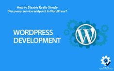How to Disable Really Simple Discovery service endpoint in #WordPress? #plugins #webperf Creative Web Design, Free Blog, Wordpress Plugins, Disability, Discovery, Articles, Social Media, Simple, Social Networks