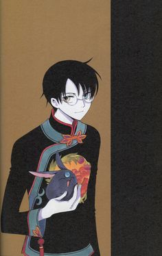 Kocho no Yume Artbook Xxxholic Watanuki, Belle Epoque, Character Illustration, Illustration Art, Sakura Card Captors, Magic Knight Rayearth, Fanart, Cardcaptor Sakura, Thing 1