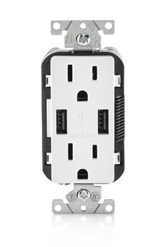 awesome trademaster 2 port usb charger tamper resistant new leviton usb charger tamper resistant duplex receptacle has two high powered charging
