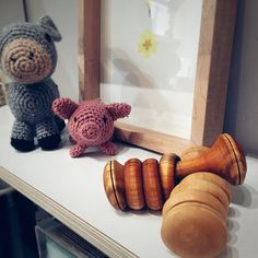 Donkey and piglet eyeing up the new beautiful wood baby rattles, crafted out of Cherry by Stephen Ryan of Green Woods Ireland Irish Design, Textures And Tones, Baby Rattle, Natural Texture, Donkey, Wooden Toys, Kids Toys, Woods, Ireland