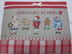 douceurs de noël Cross Stitching, Cross Stitch Embroidery, Cross Stitch Patterns, Saint Nicolas, Cross Stitch Love, Baby Kind, Christmas Cross, Happy Kids, Needlepoint