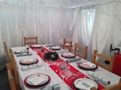 Extend your home with a Gala Tent Marquee this festive season #xmas #festive