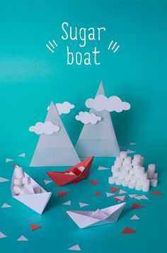 #cloud #paper #boat #dream #sugar
