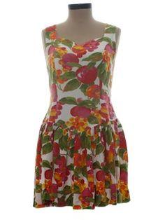 1990's Womens Wicked 90s Mini Dress
