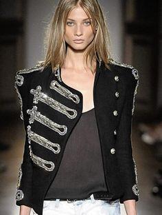 balmain jacket. want one.