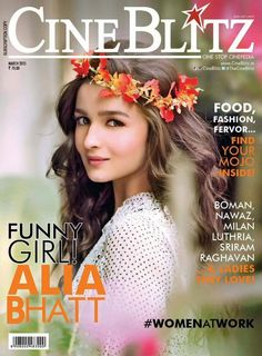 Pretty actress Alia Bhatt who stunned us with her exceptional acting skills and go-getter attitude, is ready to wow us once more on the cover of the Cine Blitz Magazine cover for its March Issue. …