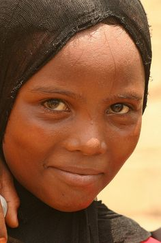 Asia: Yemeni girl of African descent