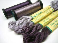 purple silk by KreinikGirl, via Flickr