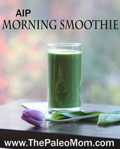 AIP Morning Smoothie | www.ThePaleoMom.com