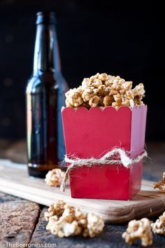 Salted Beer Caramel Corn - The Beeroness