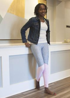 Hustle Love the Hustle Girl Boss Leggings Female Hustle, Love the Hustle, Girl Boss LeggingsThese, Love the Hustle, Girl Boss Leggings for the Female Entrepreneur, are more like workout pants or yoga pants because we make them from high-quality polyester (82%) and spandex (18%). These leggings are very comfortable, and NOT like see-thru cheap leggings.