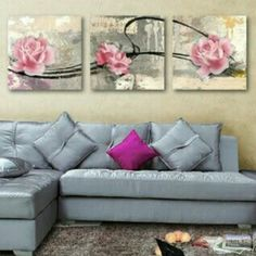 Flowered Rose 3 Piece Wall Art Set    **WORLDWIDE SHIPPING AVAILABLE**    Item Type: Painting     Style: Classical     Material: Canvas     Subject: Flowers     Type: Canvas Printing     Shape: Square     Frame: With Frame or No Frame     Frame Sizes: 12cm x 12cm, 16cm x 16cm,  20m x 20cm, 24cm x 24cm | Shop this product here: http://spreesy.com/belladonnahomedecor/129 | Shop all of our products at http://spreesy.com/belladonnahomedecor    | Pinterest selling powered by Spreesy.com