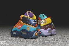 Reebok Question What the Question Customs by Dank Customs