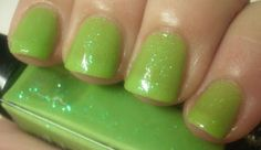 Julep Sofia -- in honor of St. Patrick's Day glow in the dark polish bn for swap or sale