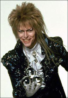 David Bowie as Jareth The Goblin King