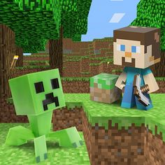 GREAT deals on toys and tees. Tees under ten bucks. Take a look at the Minecraft event on today! Mojang Minecraft, Minecraft Toys, Minecraft Stuff, 10 Year Old Boy, Minecraft Birthday Party, Girl Scout Crafts, Thing 1, Kid Spaces, Kids Learning