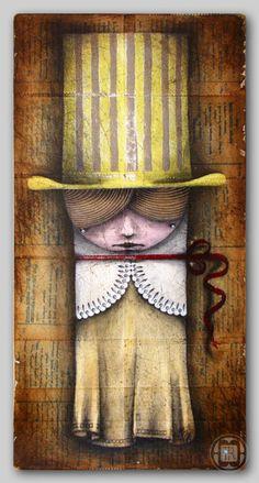 paintings I by Robert Romanowicz, via Behance