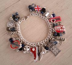 All Things English Charm Bracelet