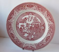 Red Willow dinner plate