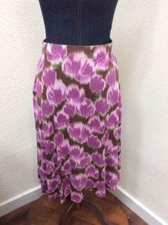29.69$  Buy now - http://vijse.justgood.pw/vig/item.php?t=8yk4vd230687 - Matilda Jane Hello Lovely SWAY THIS WAY Skirt Purple Brown Womens Sz S