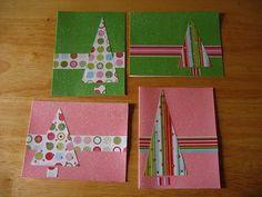 .::Un mundo de pequeñas cosas::.: 268.- Postales Navideñas hechas a mano: