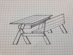Idée de bureau en palette