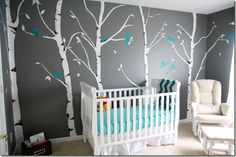 awesomely awesome nursery (no I am not interested in having babies but this room was so awesome I had to pin) \\