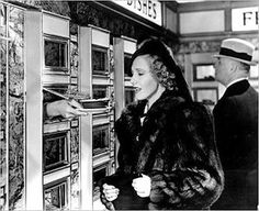 The Automat: During the 1940s and 1950s, this equivalent of vending machines was popular as ever, making the Horn and Hardart duo, America's first fast-food chain owners. All the customers had to do was put in a nickel, turn a knob and a little glass door would open up to serve their choice of food. The choice ranged from coffee, turkey and gravy, creamed spinach, Salisbury steak to coconut-cream, rice pudding and vanilla ice cream.