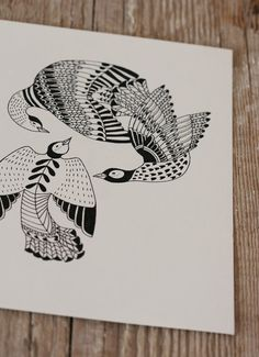 Cala Birds - Original Illustration