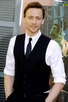Tom Hiddleston - Because he is the God of Effortlessly Sexy. And he's Loki, that doesn't hurt either xD