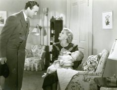 Bachelor Mother with Ginger Rogers & David Niven 1939. Love, love this sweet, old fashioned comedy about a single lady who finds a baby on her doorstep. So funny! ljb