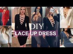 DIY | How To Make A Lace Up Dress + Pattern Making - YouTube