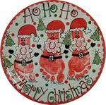Santa Footprint - Lori Dodson Designs