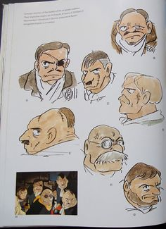 """Enjoy a collection of Concept Art from Studio Ghibli Porco Rosso, featuring Character, Layout, Prop & Background Design. The adventures of """"Porco Character Design Animation, Character Art, Dungeons And Dragons Figures, Grafic Novel, Japanese Animated Movies, Studio Ghibli Art, Ghibli Movies, Hayao Miyazaki, Anime Sketch"""