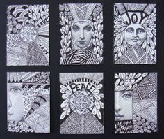 Message & Faces