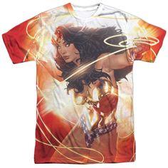 Wonder Woman: Wonder Glow Sublimated T-Shirt