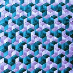turquoise purple pinwheels triaxial weaving