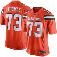 936e78537 Nike Men s Home Game Jersey Cleveland Browns Joe Thomas  73