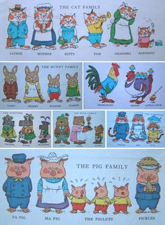 The Wishful Artist: Inspiration Spotlight: Richard Scarry