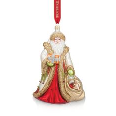 Waterford Holiday Heirlooms Nostalgic Collection Special Delivery Santa Ornament