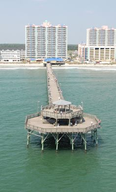 A Beautiful View Of The Prince Resort At Cherry Grove Pier As Seen From Water In North Myrtle Beach South Carolina