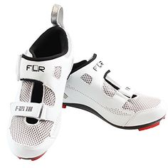 a9a2dcb8db60 Breathable removable insole black and white male models female road bike  shoes Velcro straps F121 US