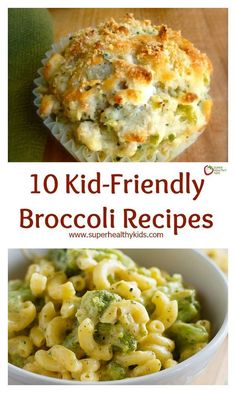 10 Kid-Friendly Broccoli Recipes. Broccoli can taste so different when prepared different ways. Try these and see how your kids like it the best! http://www.superhealthykids.com/10-kid-friendly-broccoli-recipes/