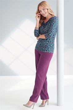 Classic Silk Trousers Existing Customer, Classic Wardrobe, Pure Silk, Magenta, Work Wear, Capri Pants, Trousers, Feminine, Autumn
