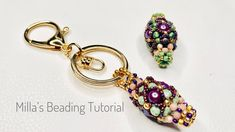 Baubles And Beads, Beading, Beadwork, Diy Jewelry, Jewellery, Home Crafts, Key, Pearls, Earrings