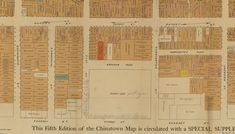 Portsmouth Square, 1885 - map